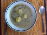 Kyselá polévka ze zelených fazolek recept