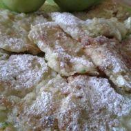 Cuketovo-jablečné placičky se skořicí recept