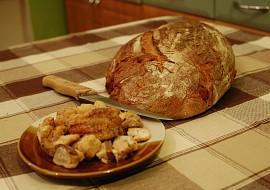 Škvarkovo-bramborový chleba recept