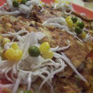 Rychlá cibulková omeleta recept