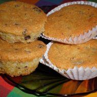 Oříškové muffiny s čokoládou recept