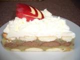 Jablečný dort  nepečený recept