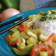 Kuřecí kari s cuketou recept