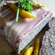 Domácí paštika v anglické slanině recept
