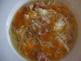 Polévka z vepřové konzervy recept