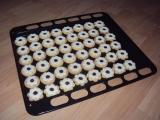 Slepované kokosové hvězdičky recept