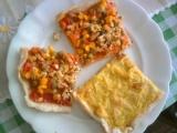 Pizza kari a zeleninová s tofu recept