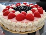 Jahodový lahodný dortík recept