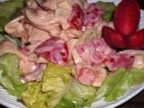 Pikantní zeleninovo-těstovinový salát recept