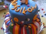 Barevný dortík s ovečkou Shaun recept