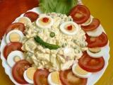 Vajíčkový salát Aladár recept