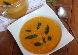 Batátová polévka s pohankou a šalvějí recept