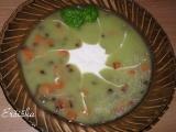 Cuketova kremova polievka recept