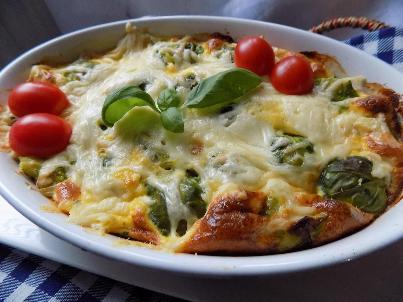 Kapustičky zapečené se dvěma druhy sýrů recept
