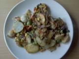 Smetanové brambory se zeleninou recept