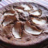 Hruškový kakaový koláč recept