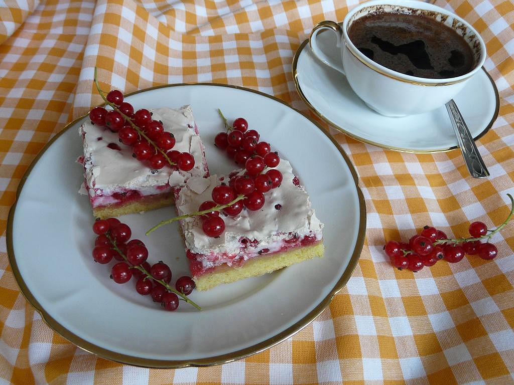 Křehký rybízový koláč recept