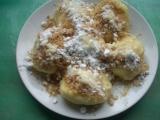 Jablkové knedlíky II recept