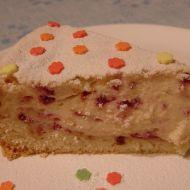 Jemný tvarohový koláč s ovocem recept