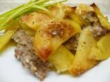 Zapečené brambory s mletým masem a smetanou recept ...