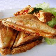 Masové sendviče se sýrem recept