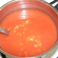 Rajská polévka s nočky recept