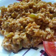 Celozrnná rajčatová rýže recept