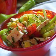 Zeleninový salát s lučinou recept