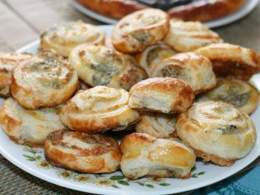 Recept Šneci z listového těsta s nivou