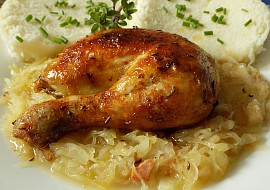 Kuře á la husa recept