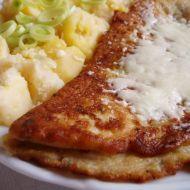 Vaječná omeleta se salámem recept