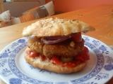 Pohankovo-ovesný hamburger recept
