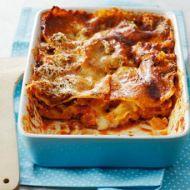 Lasagne s rajčatovou omáčkou recept