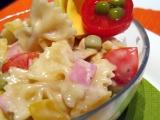 Krumlovský těstovinový salát recept