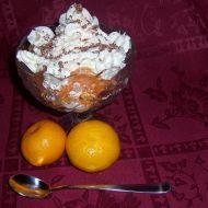 Vanilkový pohár s mandarinkami recept