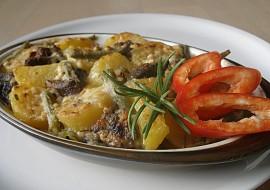 Brambory ( gnocchi) zapečené s  balkánským přelivem recept ...