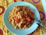 Červená čočka se zeleninou recept