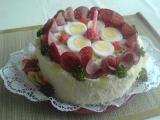 Pečený chlebový dort recept