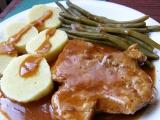 Vepřová krkovice s gulášovou šťávou recept