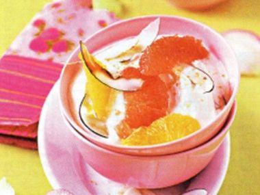 Kokosový tvaroh s citrusy  bio