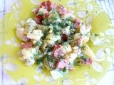 Bramborový salát se zeleninou recept