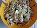 Italský zelný salát recept