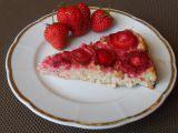 Ovesný koláč s jogurtem a ovocem recept