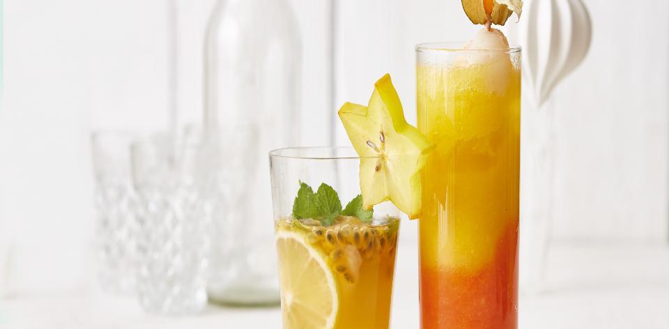 Dvoubarevný koktejl