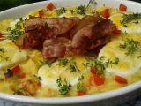 Gratinovaná bramborová kaše s vejci recept