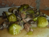 Vepřové s kapustičkami a václavkami recept