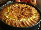 Jablkový koláč s tvarohem recept