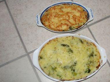 Zapékaná bramborová kaše se sýrem
