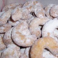 Oříškové vanilkové rohlíčky recept