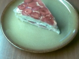 Jahodový dortík s želatinou recept